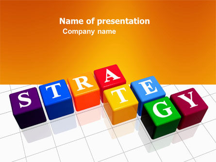 Business Concepts: Plantilla de PowerPoint - estrategia #03563