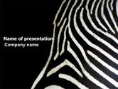 Animals and Pets: Stripes PowerPoint Template #03564