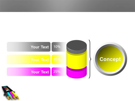 CMYK Colors PowerPoint Template Slide 11
