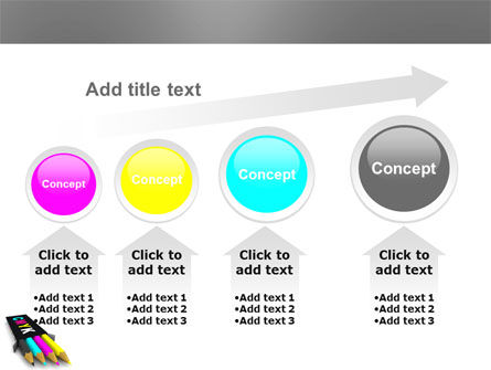 CMYK Colors PowerPoint Template Slide 13