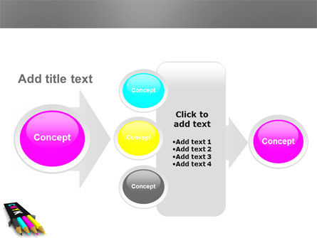 CMYK Colors PowerPoint Template Slide 17