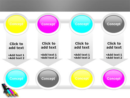 CMYK Colors PowerPoint Template Slide 18