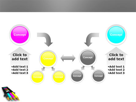 CMYK Colors PowerPoint Template Slide 19