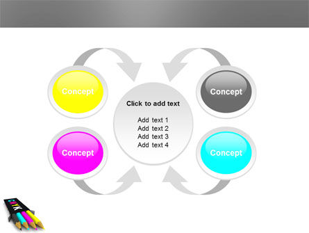 CMYK Colors PowerPoint Template Slide 6