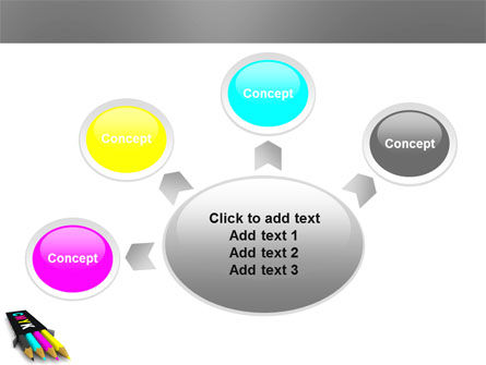 CMYK Colors PowerPoint Template Slide 7
