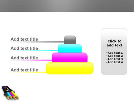 CMYK Colors PowerPoint Template Slide 8