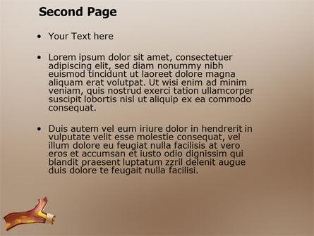 Vessel PowerPoint Template, Slide 2, 03568, Medical — PoweredTemplate.com