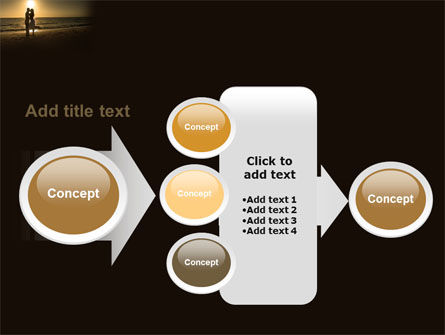 Romantic Evening PowerPoint Template Slide 17