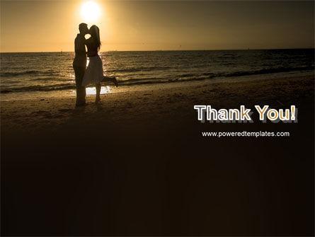 Romantic Evening PowerPoint Template Slide 20