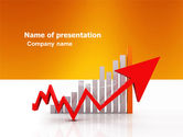 Business Concepts: Raising Rates PowerPoint Template #03571