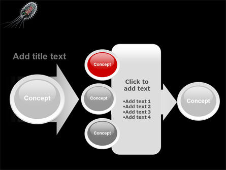 Bacteria Cell PowerPoint Template Slide 17