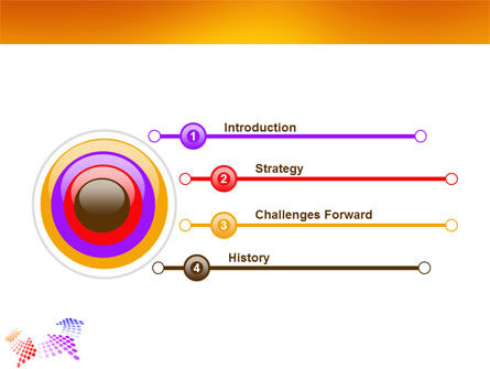 Cycle PowerPoint Template, Slide 3, 03577, Abstract/Textures — PoweredTemplate.com