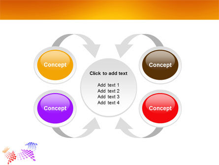Cycle PowerPoint Template Slide 6