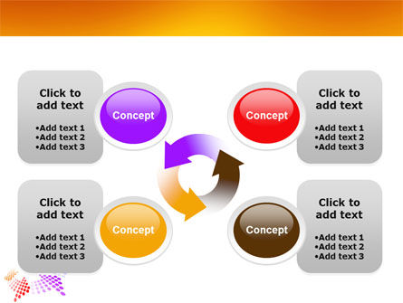 Cycle PowerPoint Template Slide 9
