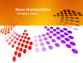 Abstract/Textures: Cycle PowerPoint Template #03577