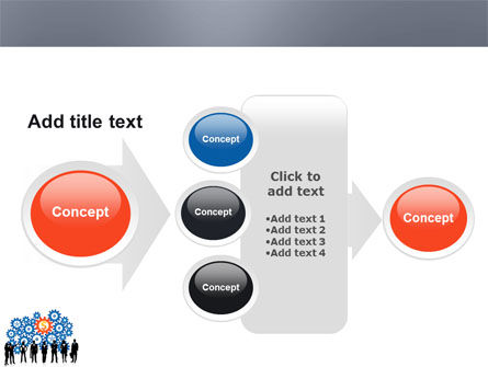 Business Workers PowerPoint Template Slide 17