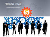 Business Workers PowerPoint Template#20