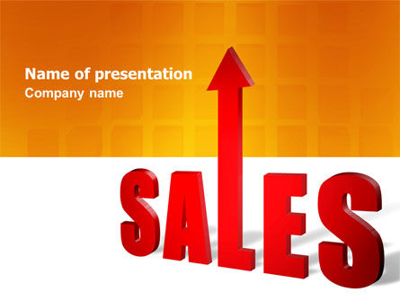 Sales PowerPoint Template, 03579, Business — PoweredTemplate.com