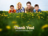 Family Outdoors PowerPoint Template#20