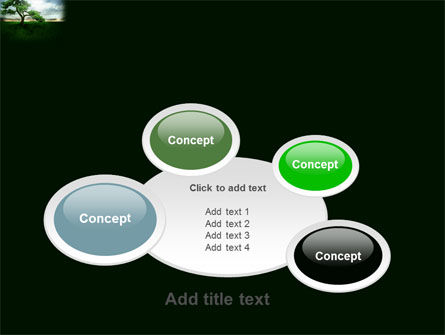 Solitary Tree PowerPoint Template Slide 16