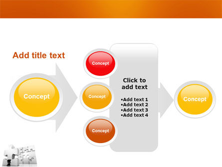 Business Puzzle PowerPoint Template Slide 17