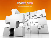 Business Puzzle PowerPoint Template#20