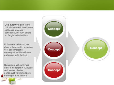 Apple for Teacher PowerPoint Template Slide 11