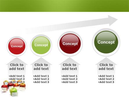 Apple for Teacher PowerPoint Template Slide 13