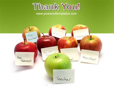 Apple for Teacher PowerPoint Template Slide 20