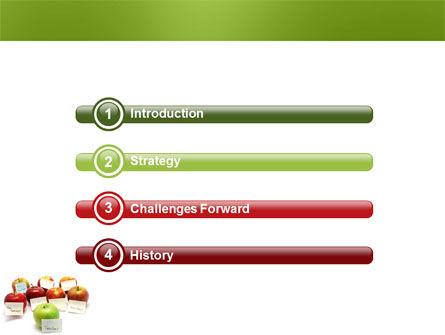 Apple for Teacher PowerPoint Template Slide 3