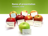 Education & Training: Apple for Teacher PowerPoint Template #03590