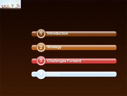 Spring Day PowerPoint Template, Slide 3, 03591, Education & Training — PoweredTemplate.com