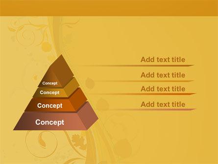 Autumn Theme PowerPoint Template Slide 12