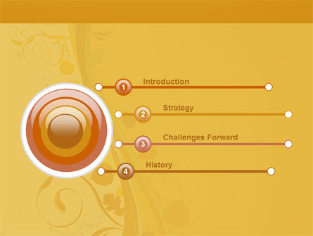 Autumn Theme PowerPoint Template, Slide 3, 03593, Abstract/Textures — PoweredTemplate.com