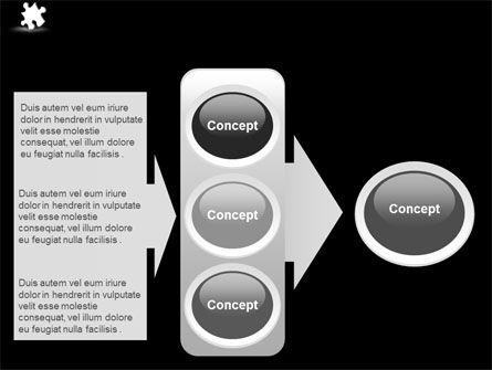 White Piece PowerPoint Template Slide 11