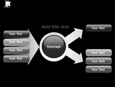 White Piece PowerPoint Template Slide 14