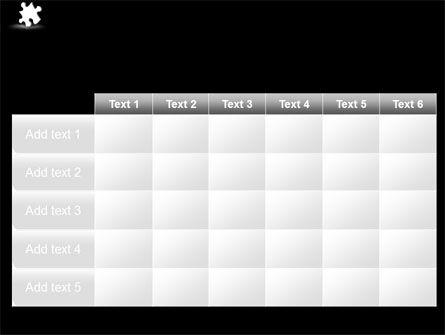 White Piece PowerPoint Template Slide 15