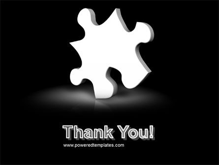 White Piece PowerPoint Template Slide 20