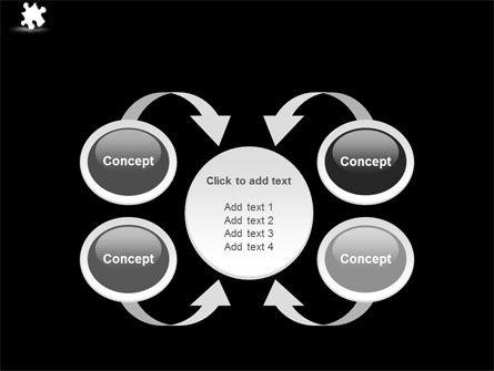 White Piece PowerPoint Template Slide 6