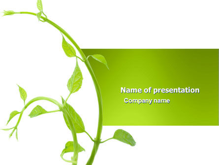 New Life PowerPoint Template, 03598, Nature & Environment — PoweredTemplate.com
