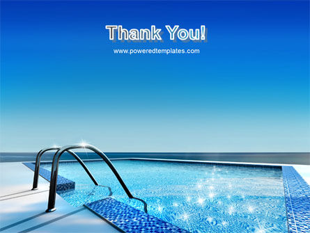 Swimming Pool PowerPoint Template Slide 20