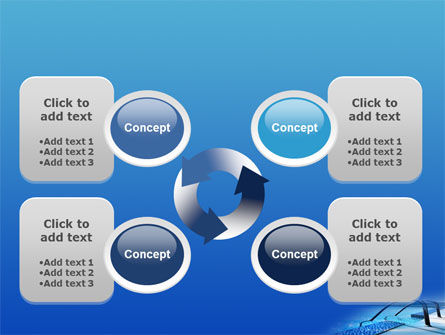 Swimming Pool PowerPoint Template Slide 9