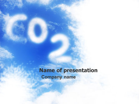 Carbonic Acid PowerPoint Template, 03601, Nature & Environment — PoweredTemplate.com