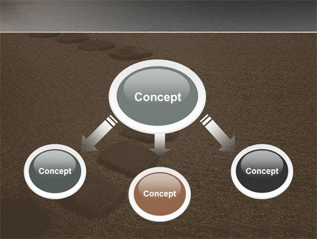 Winding Road PowerPoint Template, Slide 4, 03602, Business Concepts — PoweredTemplate.com