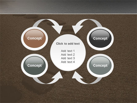 Winding Road PowerPoint Template Slide 6