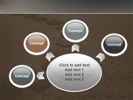 Winding Road PowerPoint Template Slide 7