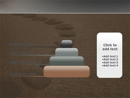 Winding Road PowerPoint Template Slide 8