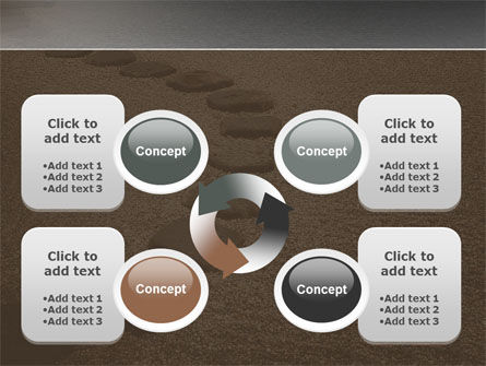 Winding Road PowerPoint Template Slide 9
