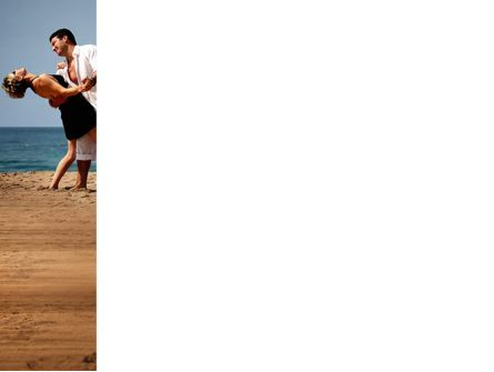 Couple Dancing On The Beach PowerPoint Template, Slide 3, 03605, People — PoweredTemplate.com