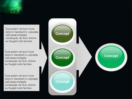 Northern Lights PowerPoint Template Slide 11
